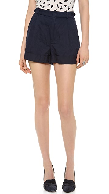 Band of Outsiders Rolled Cuff Shorts