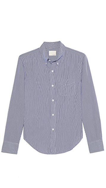 Band of Outsiders Long Sleeve Button Down