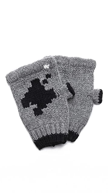 Band of Outsiders Combat 2600 Fingerless Gloves