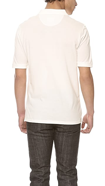 Band of Outsiders Trap Pocket Polo Shirt