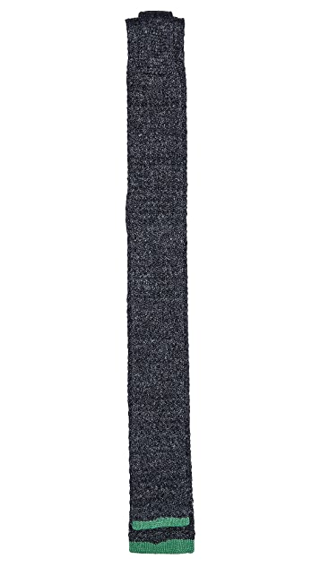 Band of Outsiders Solid Knit Tie