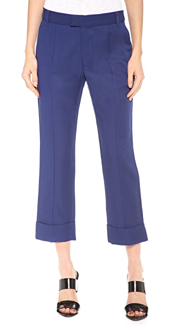 Band of Outsiders Split Cuff Ankle Pants