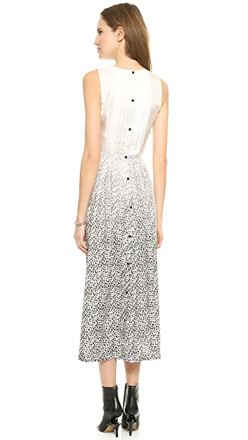 Band of Outsiders Degrade Leopard Maxi Dress