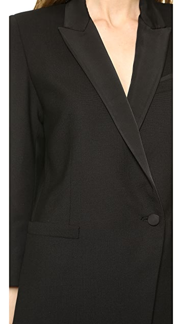 Band of Outsiders Peak Lapel Blazer Dress