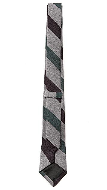 Band of Outsiders Dark Stripes Tie