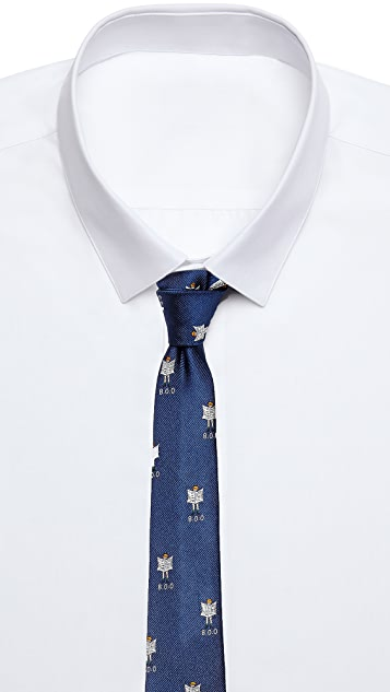 Band of Outsiders News Flash Tie