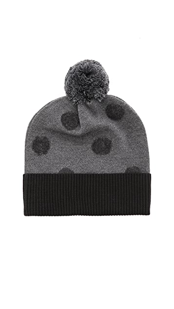 Band of Outsiders Punch Dot Beanie