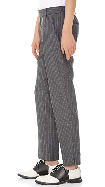Band of Outsiders Ankle Pants with Slits