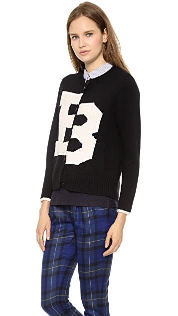 Band of Outsiders Broken B Cardigan
