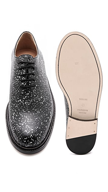 Band of Outsiders Notebook Print Oxfords