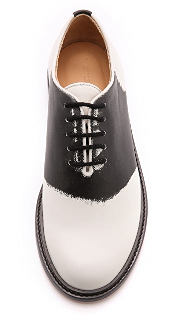 Band of Outsiders Trompe l'Oeil Saddle Shoes
