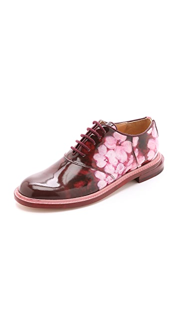 Band of Outsiders Floral Saddle Shoes