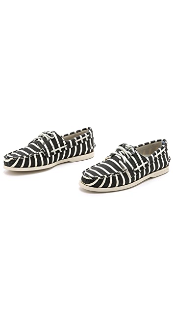 Band of Outsiders Sperry Top-Sider by Band of Outsiders A/O Stripe Boat Shoes