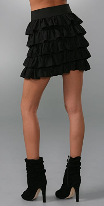 BB Dakota Violet Skirt