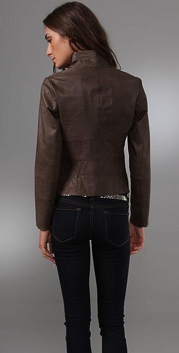 BB Dakota Cartersville Leather Jacket