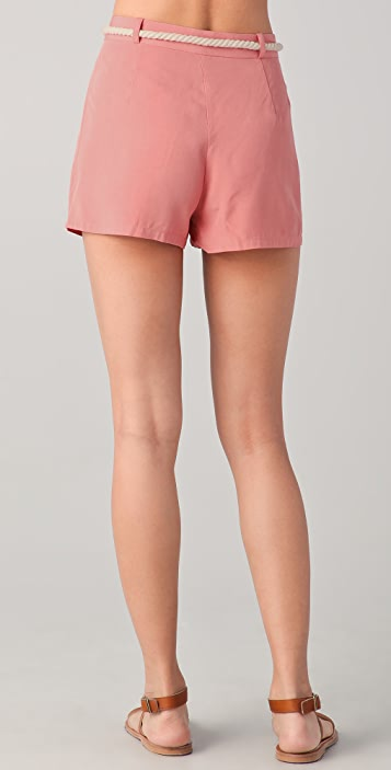 BB Dakota Cailyn Belted Shorts