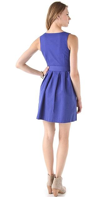 BB Dakota Mary Wrap Dress with Belt