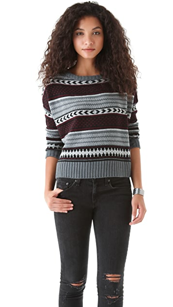 BB Dakota Kayla Patterned Sweater