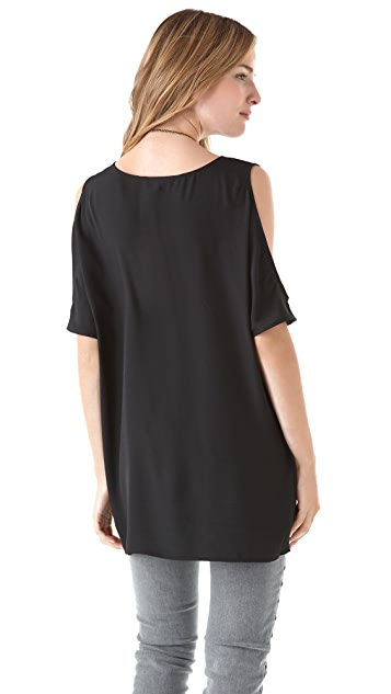 BB Dakota Hugo Cutout Shoulder Tunic