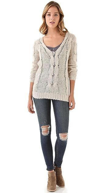 BB Dakota Corinth Cable Sweater