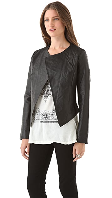 BB Dakota Noe Retro Cropped Jacket