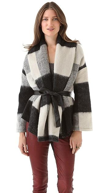 BB Dakota Stone Shawl Collar Jacket