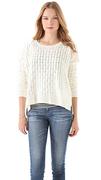 BB Dakota Laurine Cable Knit Sweater