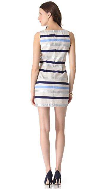 BB Dakota Delaine Stripe Dobby Dress