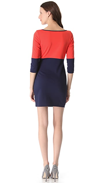 BB Dakota Lewis Colorblock Dress
