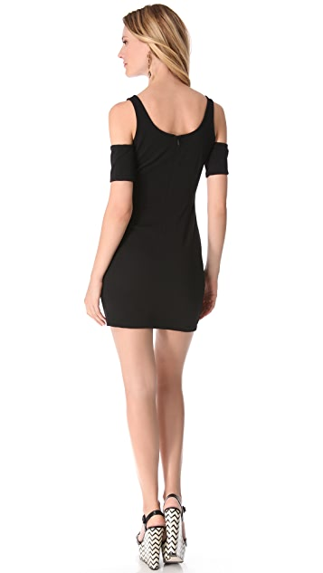 BB Dakota Mayer Ribbed Ponte Dress