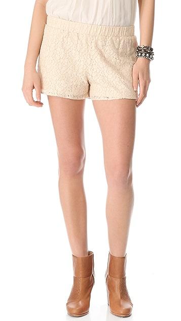 BB Dakota Gigi Lace Shorts
