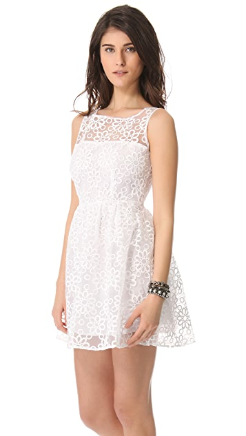 BB Dakota Huela Organza Embroidered Dress