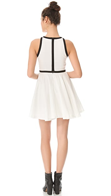 BB Dakota Jamila Contrast Trim Dress