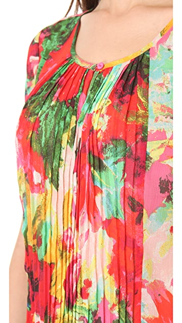 BB Dakota Warden Flourish Printed Top
