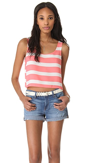 BB Dakota Woodruff Stripe Tank