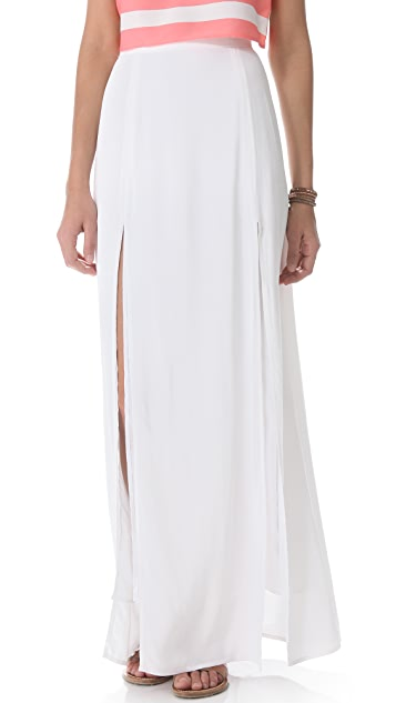 BB Dakota McKinley Maxi Slit Skirt
