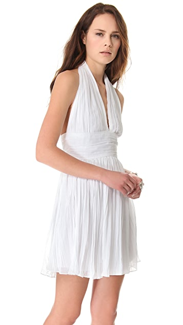 BB Dakota Graciela Pleated Chiffon Dress