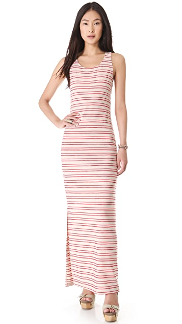 BB Dakota Cannon Stripe Maxi Dress