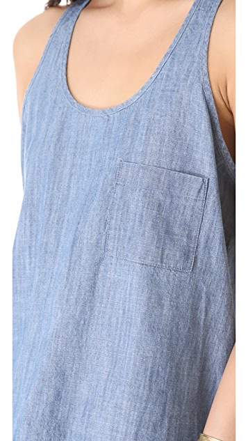 BB Dakota Lakeside Denim Tank