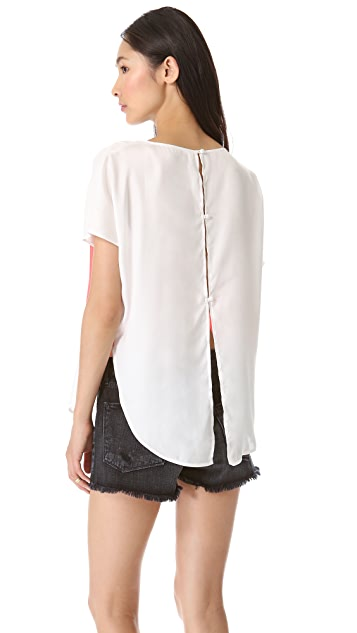 BB Dakota Capri Open Back Top