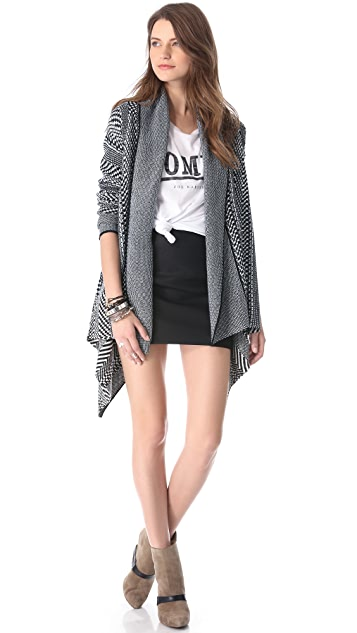 BB Dakota Kali Patterned Cardigan