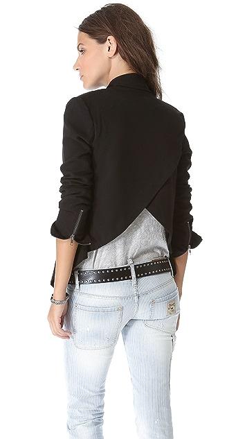 BB Dakota Gabrie Crossover Back Blazer