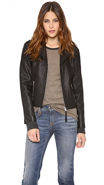 BB Dakota Missy Moto Jacket