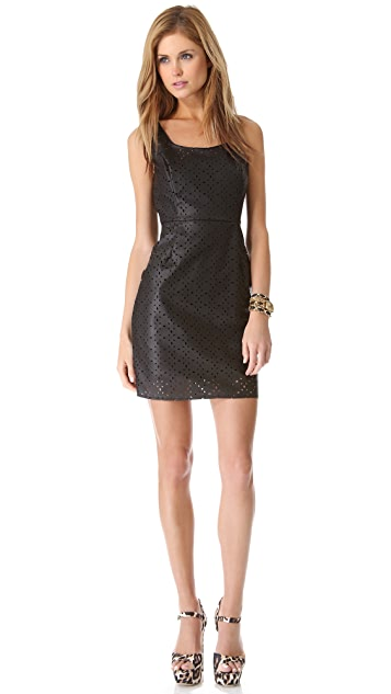 BB Dakota Kira Perforated Dress
