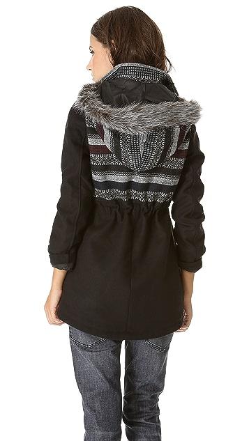 BB Dakota Isolde Patterned Coat