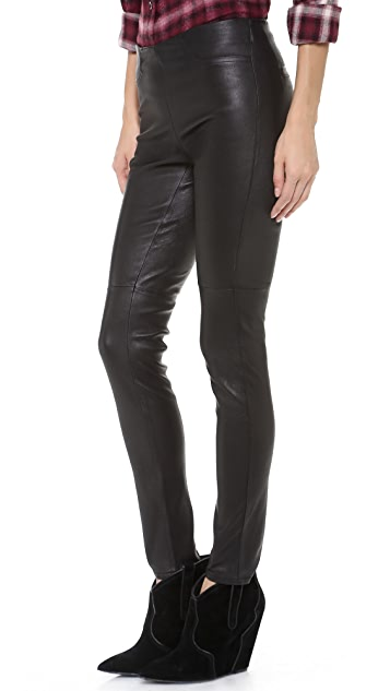 BB Dakota Dakota Collective Ethel Leather Leggings