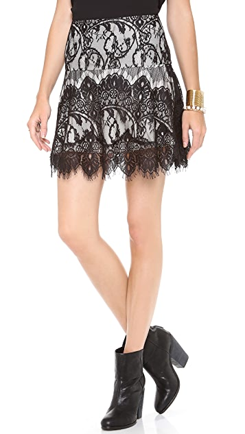 BB Dakota Theadora Lace Skirt