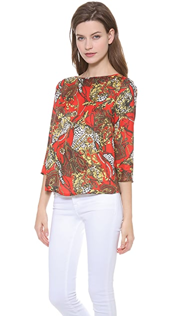 BB Dakota Ashton Printed Top