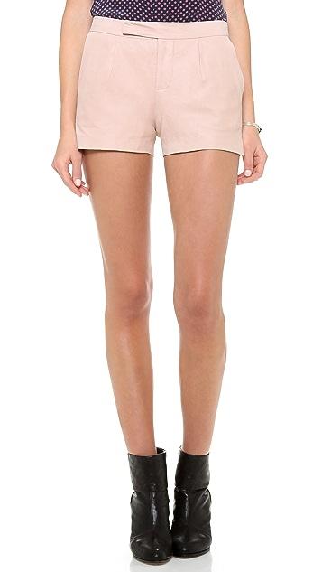 BB Dakota Dakota Collective Riley Leather Shorts