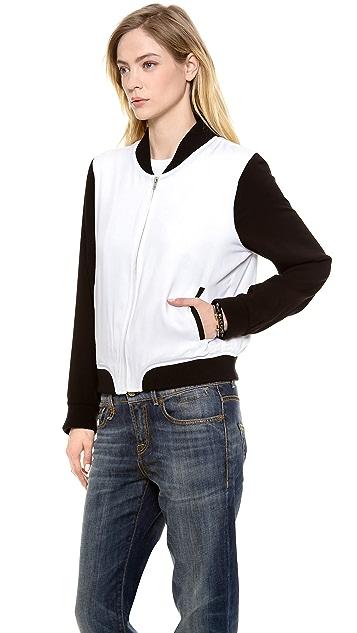 BB Dakota Jeanie Baseball Jacket